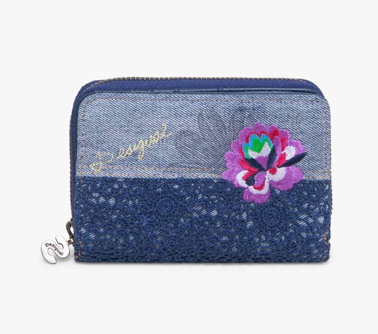72Y9JH0_5001 Desigual Wallet Exotic Jean Buy Online