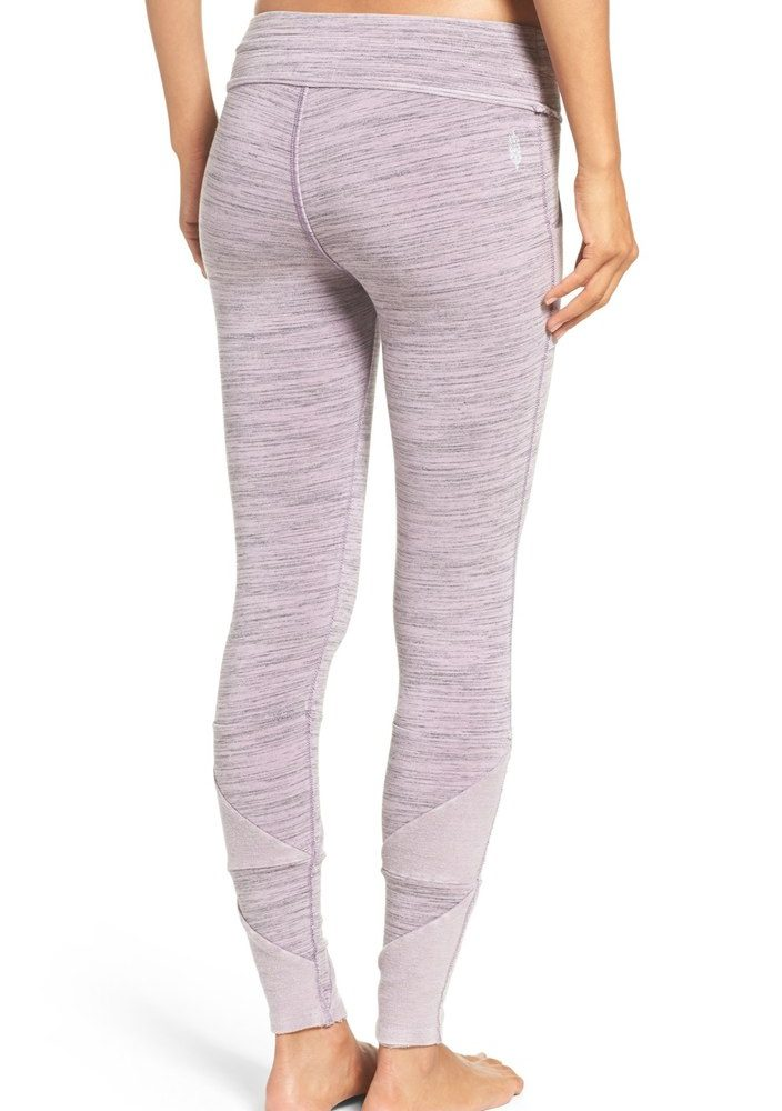 Free People Pastel Purple leggings