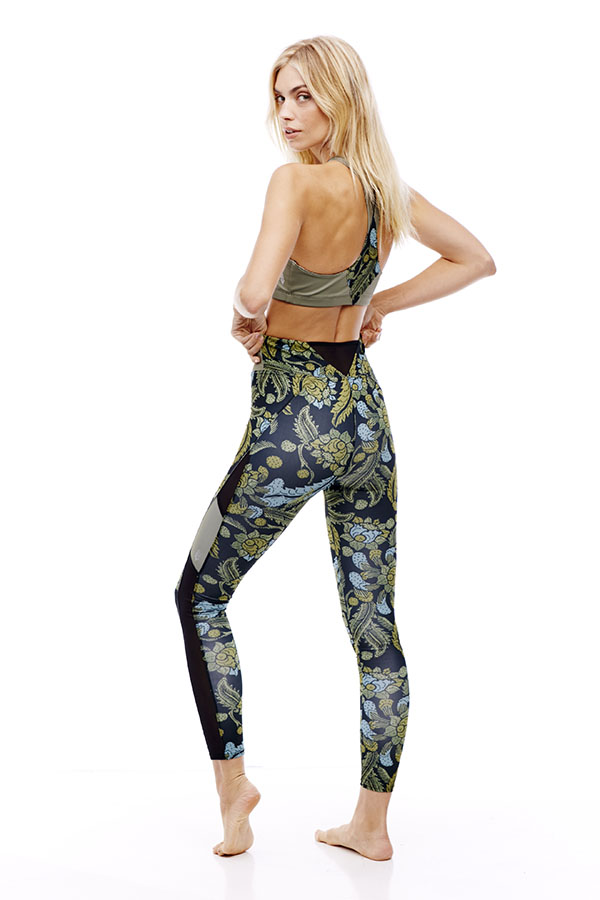 Free people Floral Printed legging