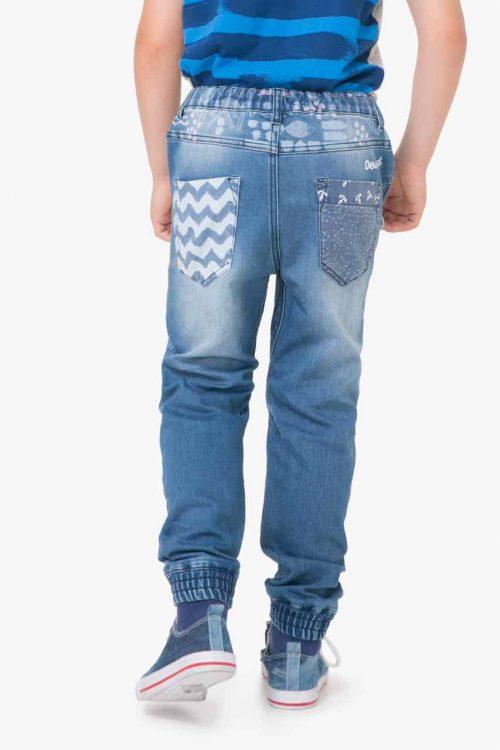 71D37A4_5036 Desigual Boys Jeans Red