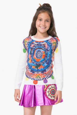 71J34E1_1000 Desigual Girl Sweater Adersen Buy Online