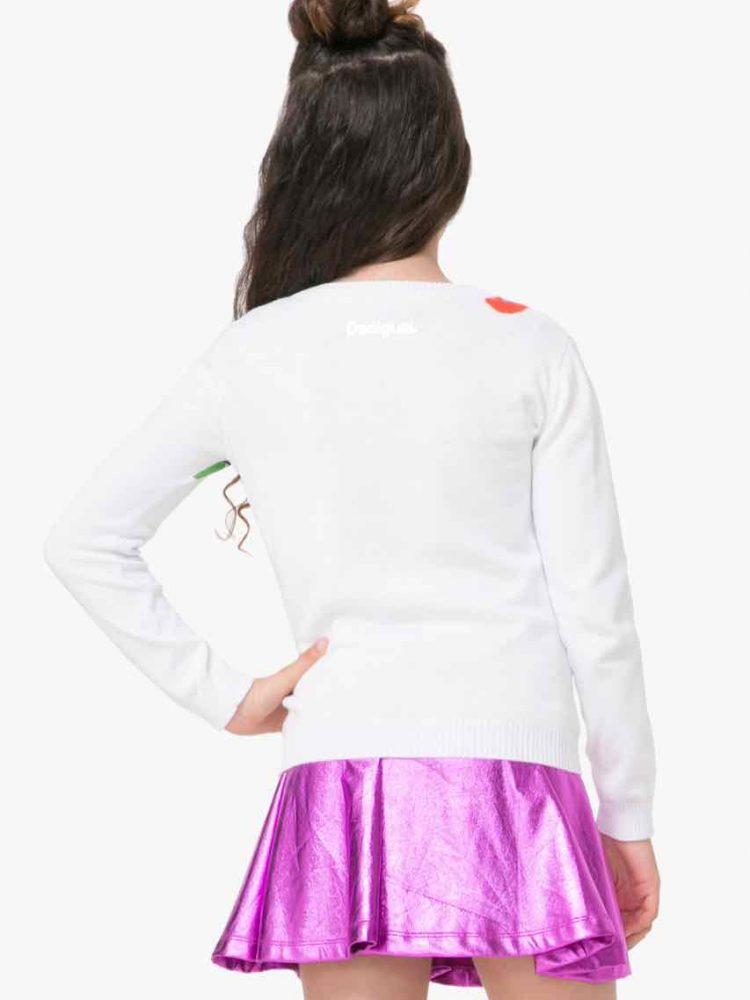 71J34E1_1000 Desigual Girl Sweater Adersen Buy Online