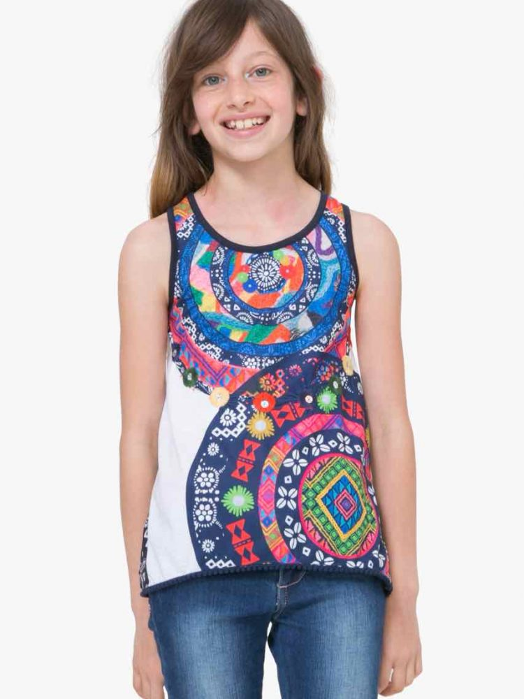 71T30A7_1000 Desigual Girl T-Shirt Distriod Buy Online