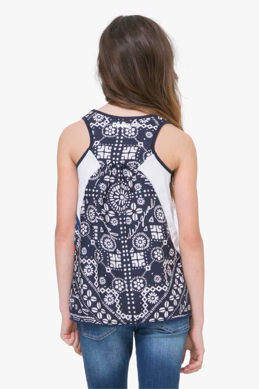 71T30A7_1000 Desigual Girl T-Shirt Distriod