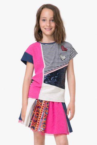 71T30H8_5000 Desigual Girls T-Shirt Oshawa Buy Online