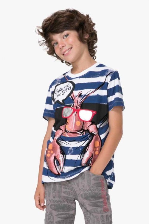 71T36C0_5000 Desigual Boy T-Shirt Lirio Buy Online