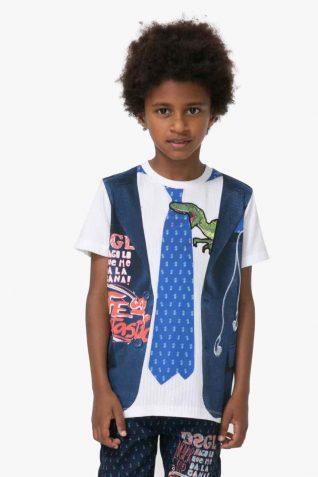 71T36C1_1000 Desigual Boys T-Shirt Diego Buy Online