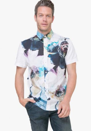 72C12K1_1000 Desigual Man Shirt Leo Buy Online