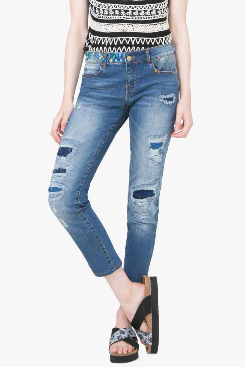72D2JE3_5017 Desigual Jeans Slim Buy Online