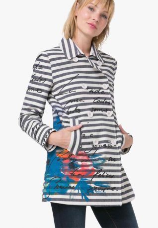 Desigual Jacket Mencia, stripes