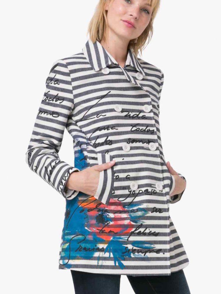 Desigual Jacket Mencia, stripes