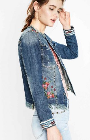 Desigual Denim Jacket, spring 2017