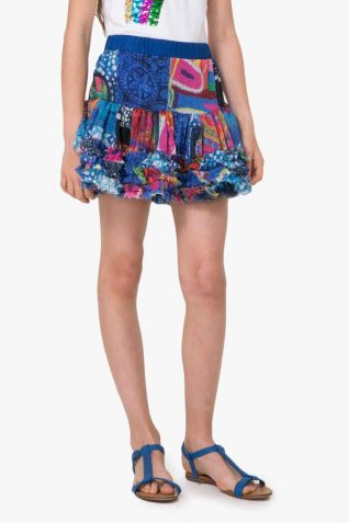 72F31A1_5036 Desigual Girls Skirt Antius Buy Online