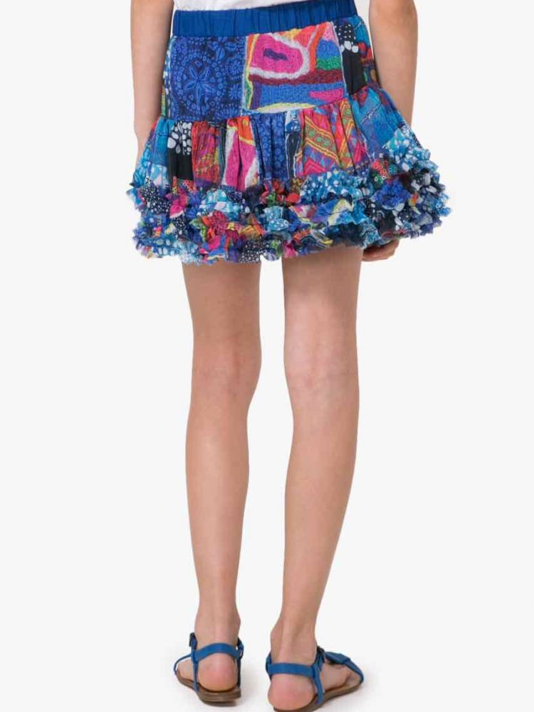 72F31A1_5036 Desigual Girls Skirt Antius