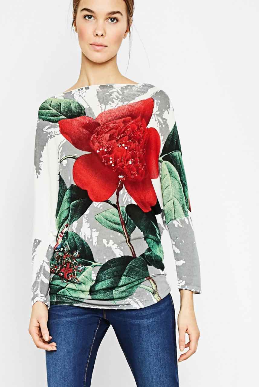 72J2EA7_1000 Desigual Sweater Dream Buy Online