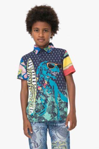 72L36R0_5040 Desigual Boys Polo Marino Buy Online