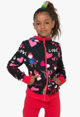 72S34A2_2000 Desigual Girls Reversible Sweater Eliot Buy Online