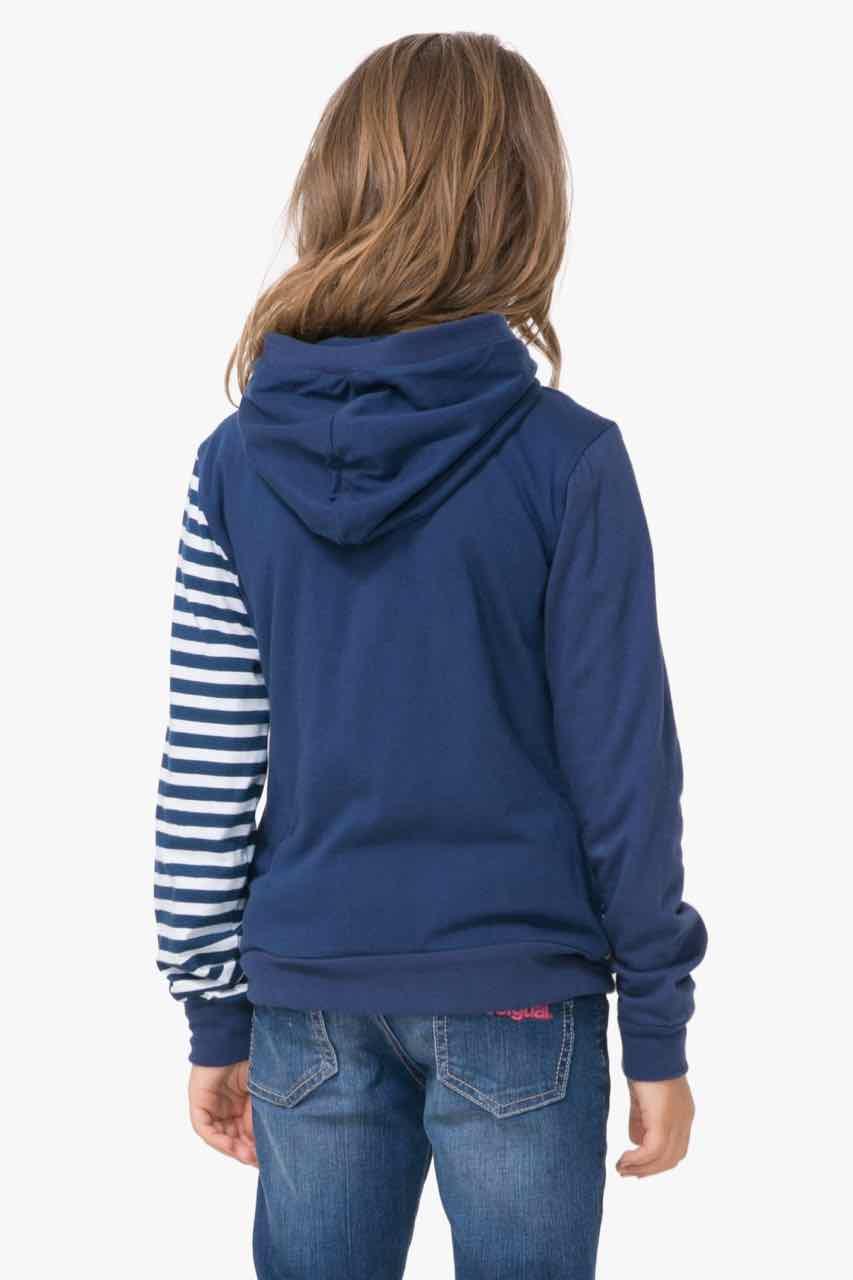 72S34B3_5000 Desigual Gurls Reversible Sweater Chauter