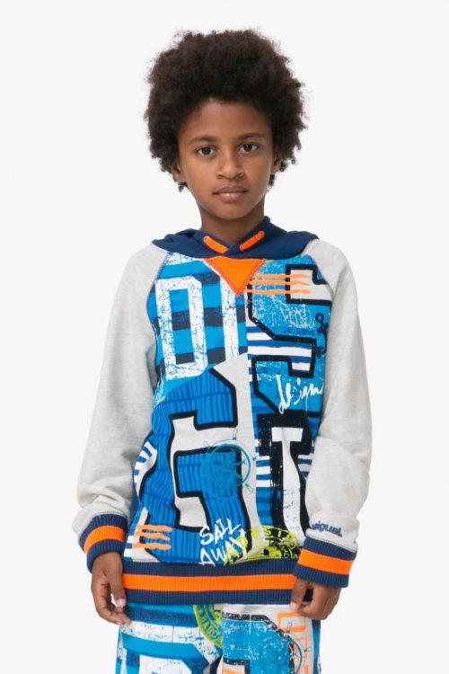 72S36H7_5040 Desigual Boys Sweater Jeff Buy Online