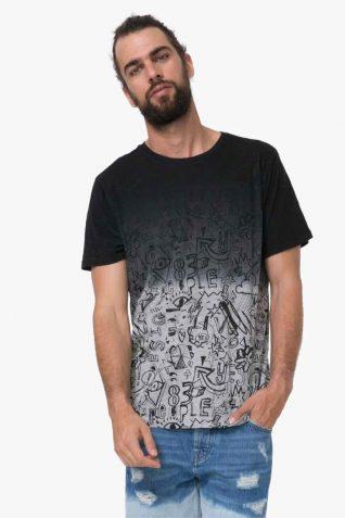 72T14B0_2000 Desigual Man T-Shirt Letdegra Buy Online