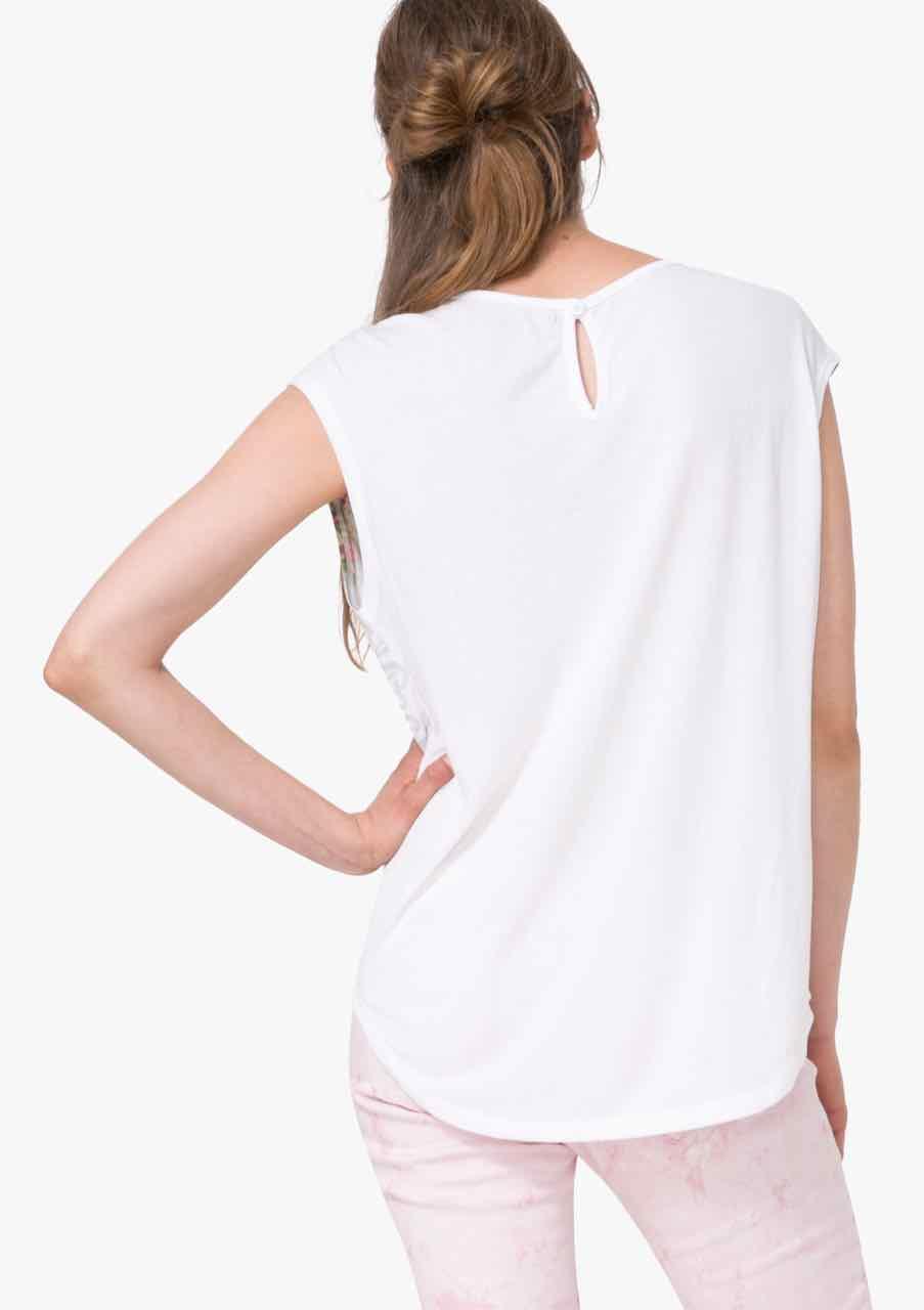 Desigual T Shirt Basic Vest 72t2eq6 Buy Online Canada