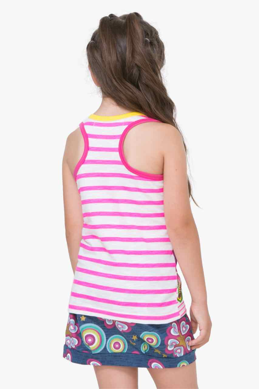 72T30F1_1000 Desigual Girls T-Shirt Quebec Buy Online