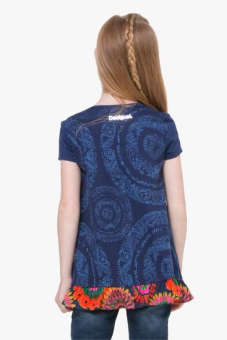 72T30J1_5000 Desigual Girls T-Shirt Barrie Buy Online