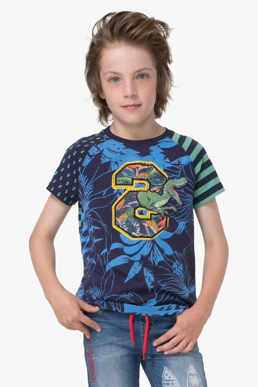 72T36A5_5040 Desigual Boy T-Shirt Freddie Buy Online