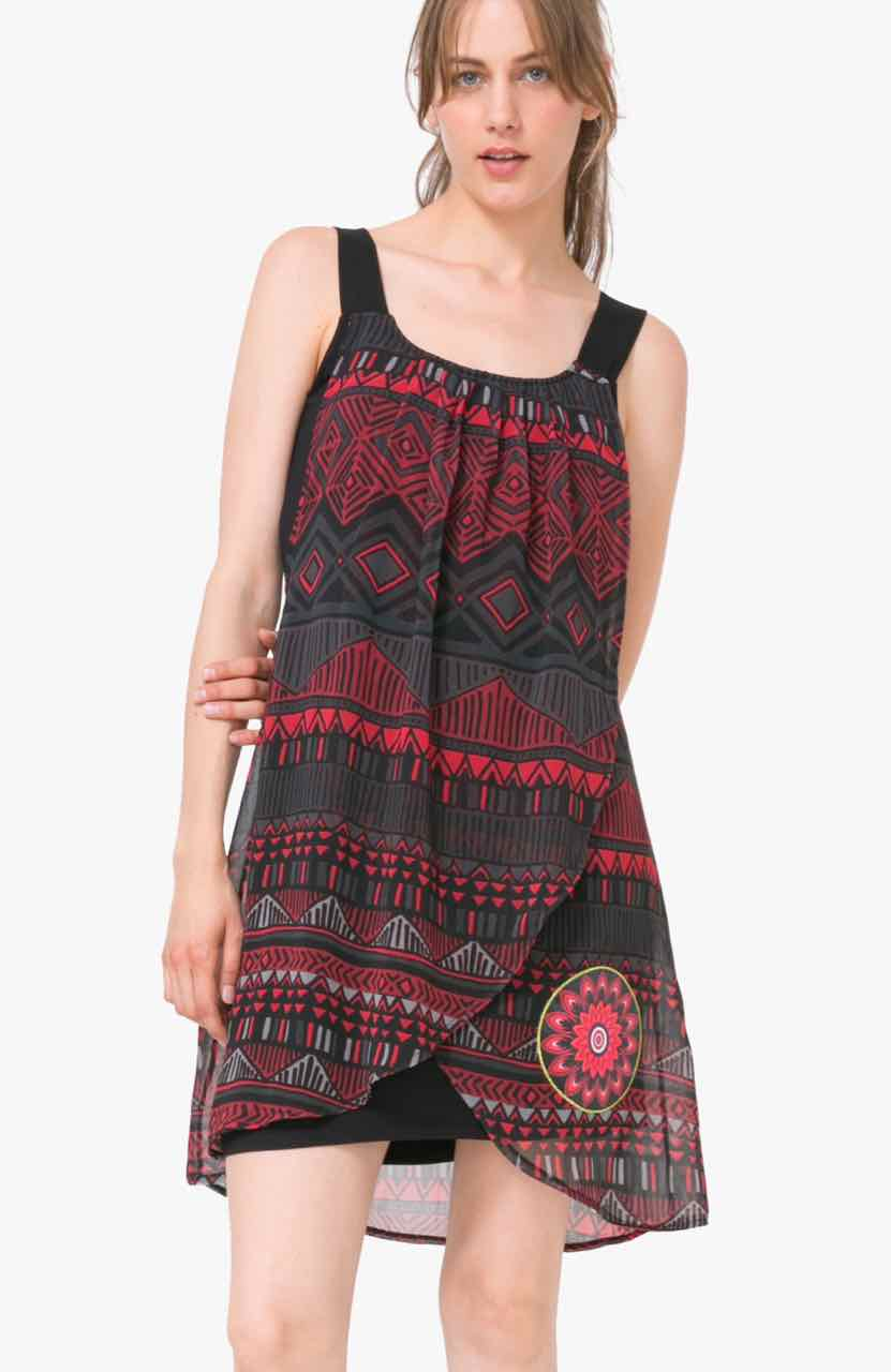 72V2ET2_2000 Desigual Dress Lorna Black New Buy Online