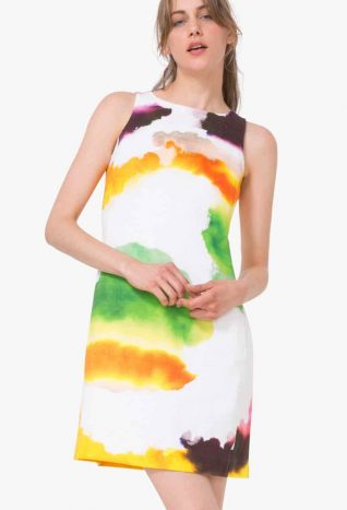 Desigual Waterpaint Dress, 2017