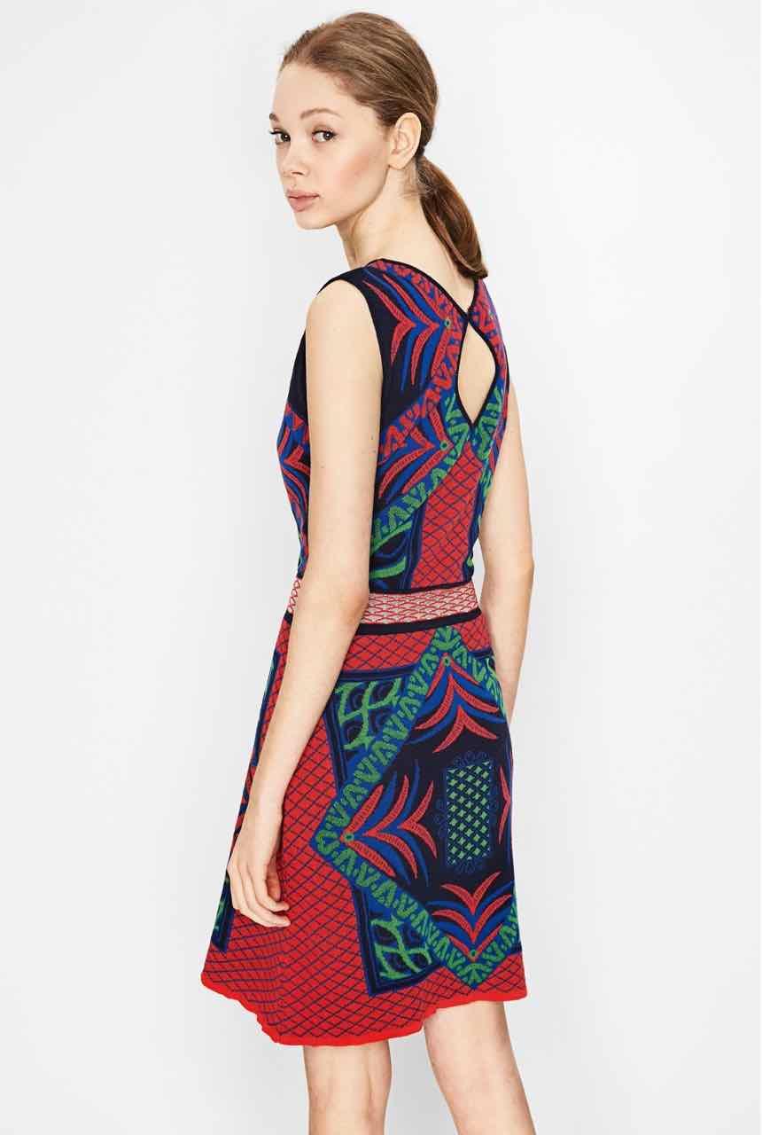 Desigual Dress Marias 72v2yc4 Navy Buy Online Canada