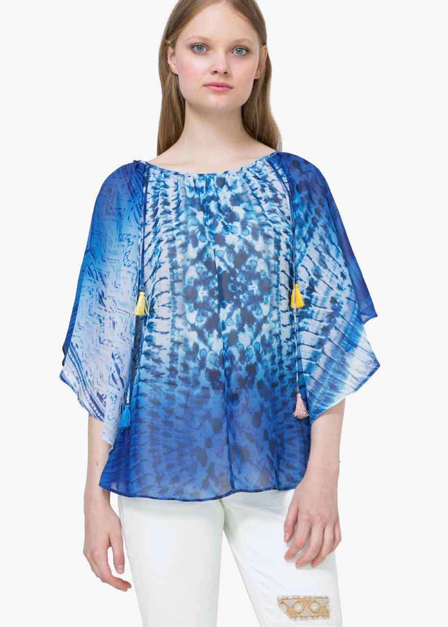 73B2WM0_5020 Desigual Blouse Multicolor Buy Online