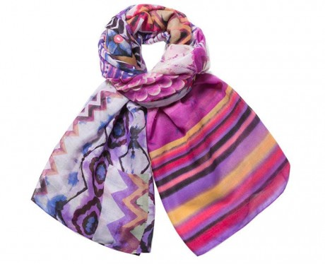 73W9WE4 Desigual Scarf Ethnic Dye Buy Online