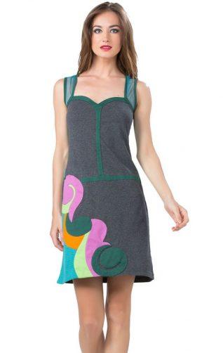 Pygmees Dress Bustier Neckline