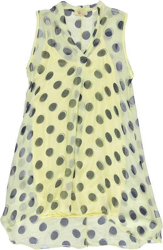 19-60290G M Made in Italy Dress Yellow Buy Online