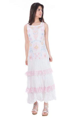 Savage Culture Long Dress Lissa White
