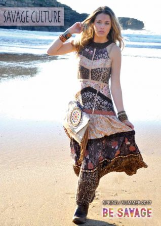 Savage Culture Summer Maxi Dress Animal Print