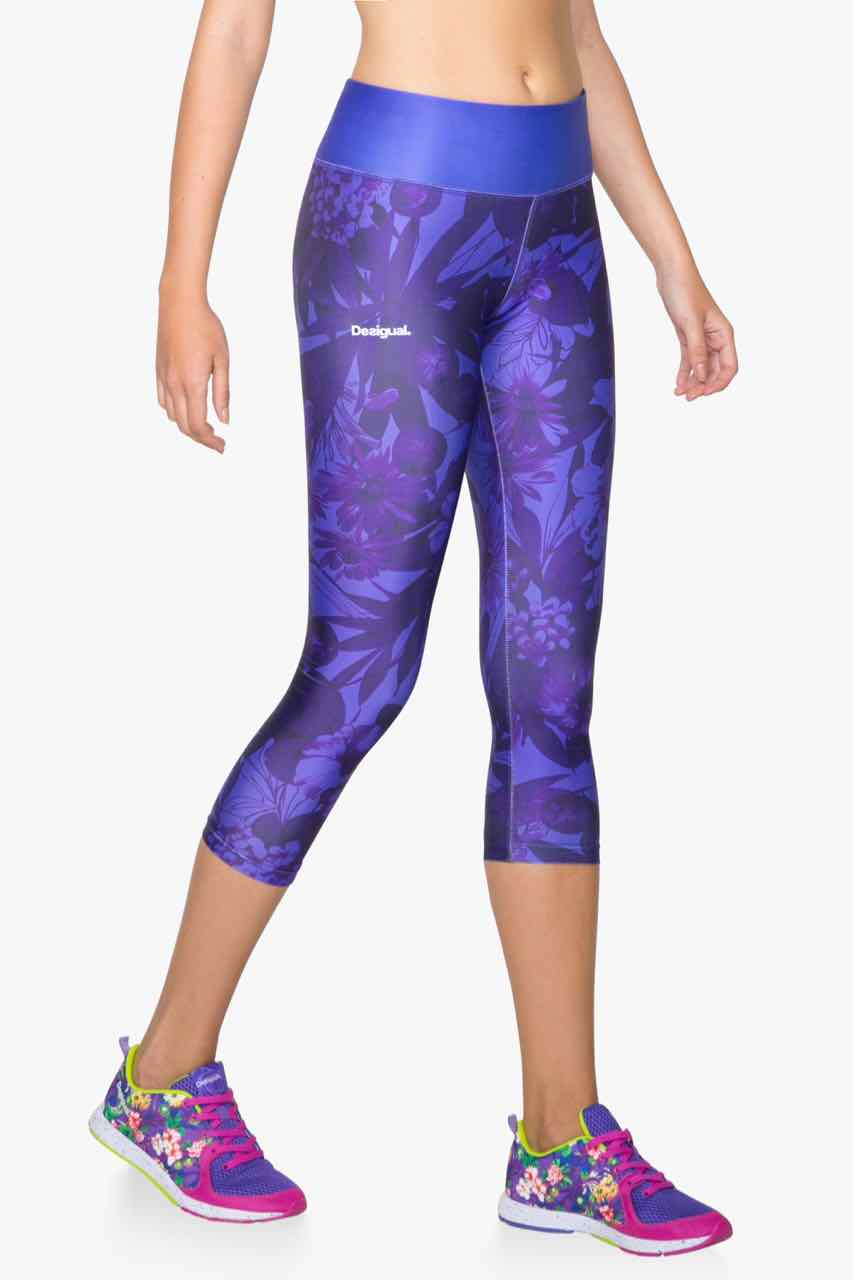 71K2SA4_3180 Desigual Sport Legging A Capri Tight G Buy Online