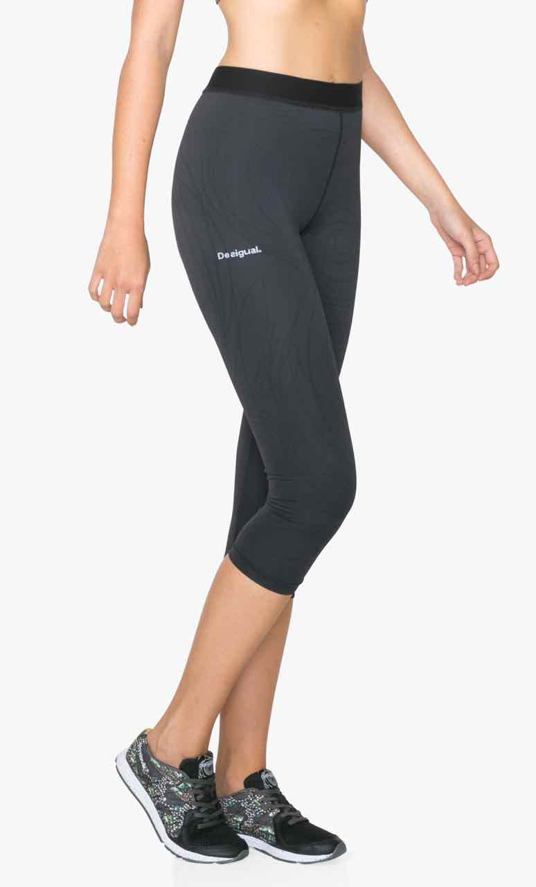 71K2SA9_2000 Desigual Sport Legging A Capri Tight 2 black Buy Online