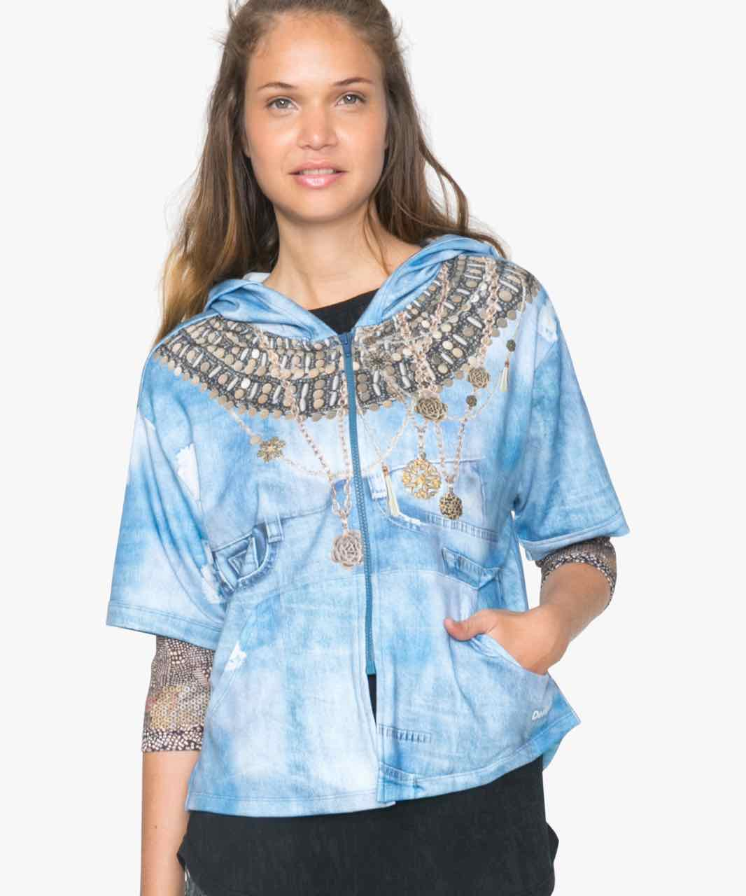 71S2SA3_5006 Desigual Sport L Sweater Y Buy Online