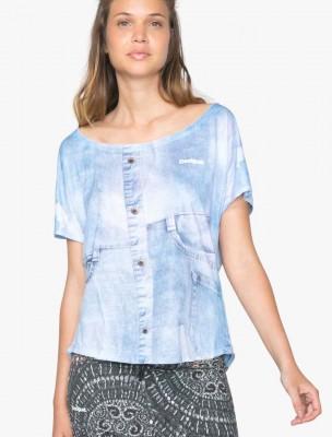 71T2SC5_5006 Desigual T-Shirt L T-S Oversize Y Buy Online
