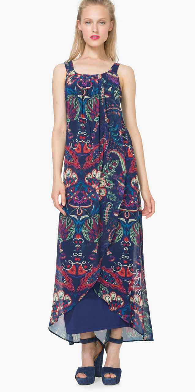 880f5dca22 DESIGUAL Maxi Dress EVITA 73V2EW2| Buy Online | Maxi Dress