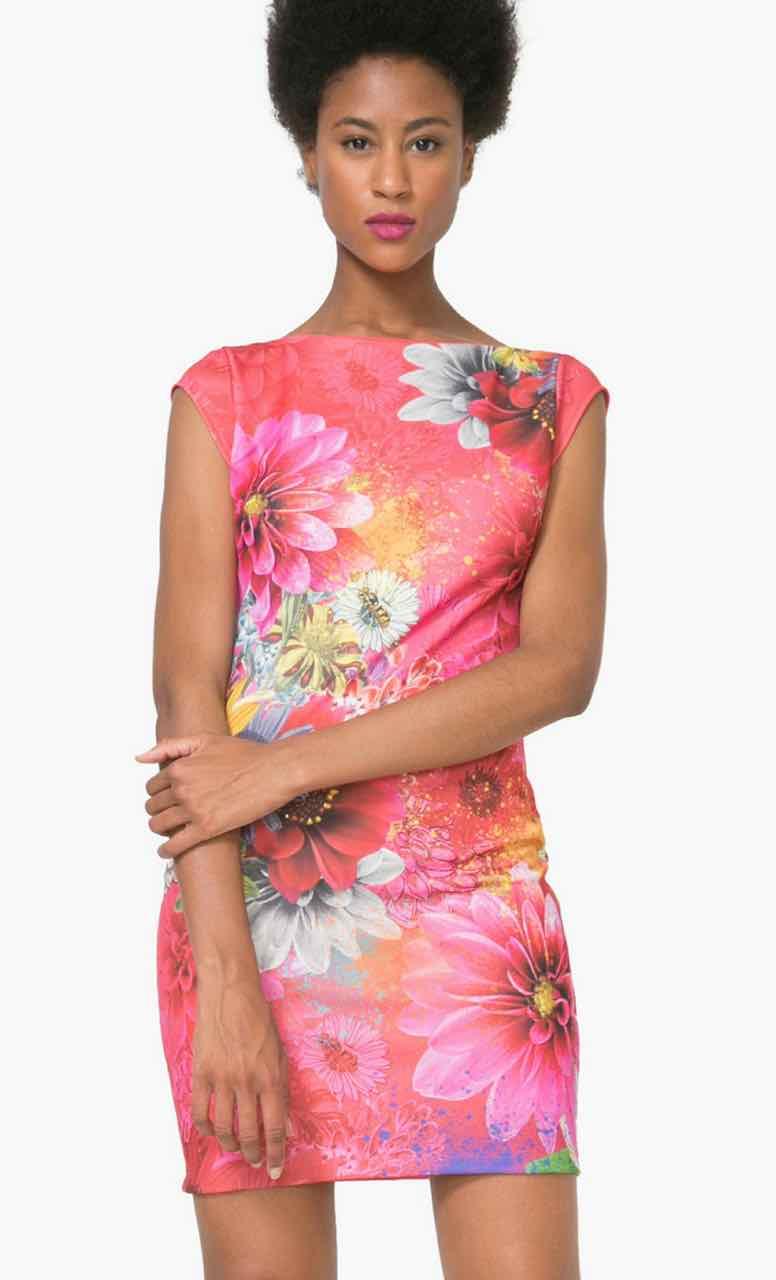 73V2EX2_3002 Desigual Dress PIchi Luka Buy Online