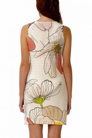 73V2YW0_1001 Desigual Dress Menta Buy Online