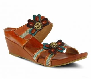 L'Artiste by Spring Step Slide Sandals Bacall
