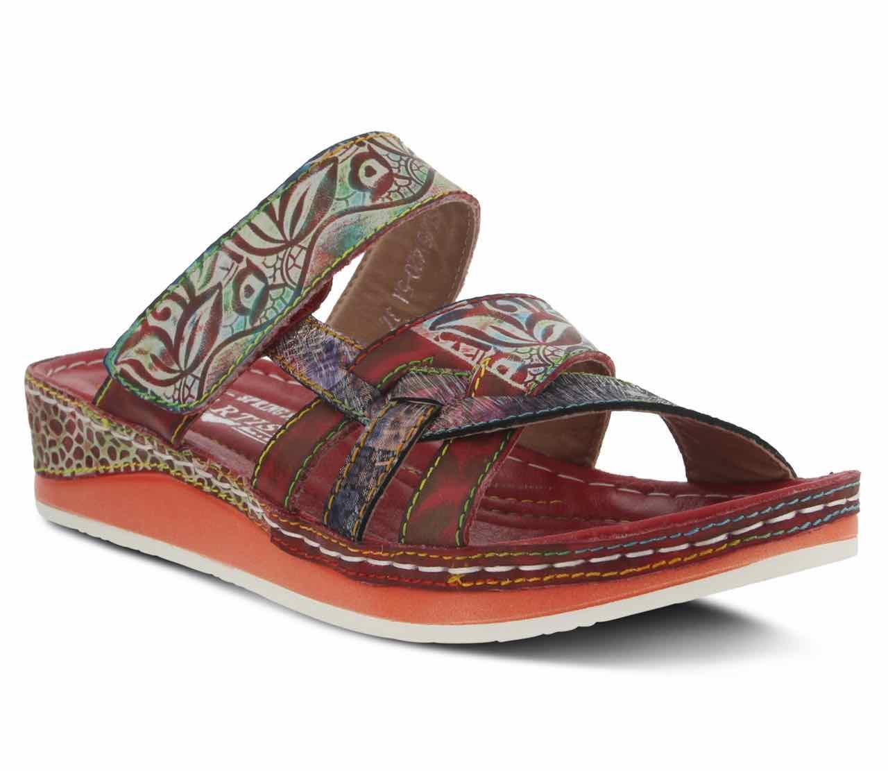 L'Artiste Caiman Slide Sandal, buy online