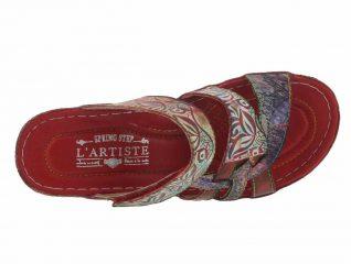 L'Artiste by Spring Step Caiman Slide Sandal
