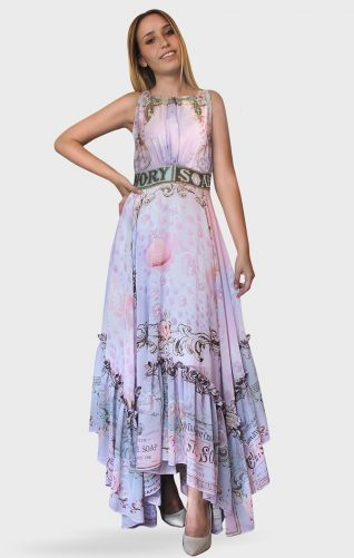 IPNG Maxi Dress Double Bubble
