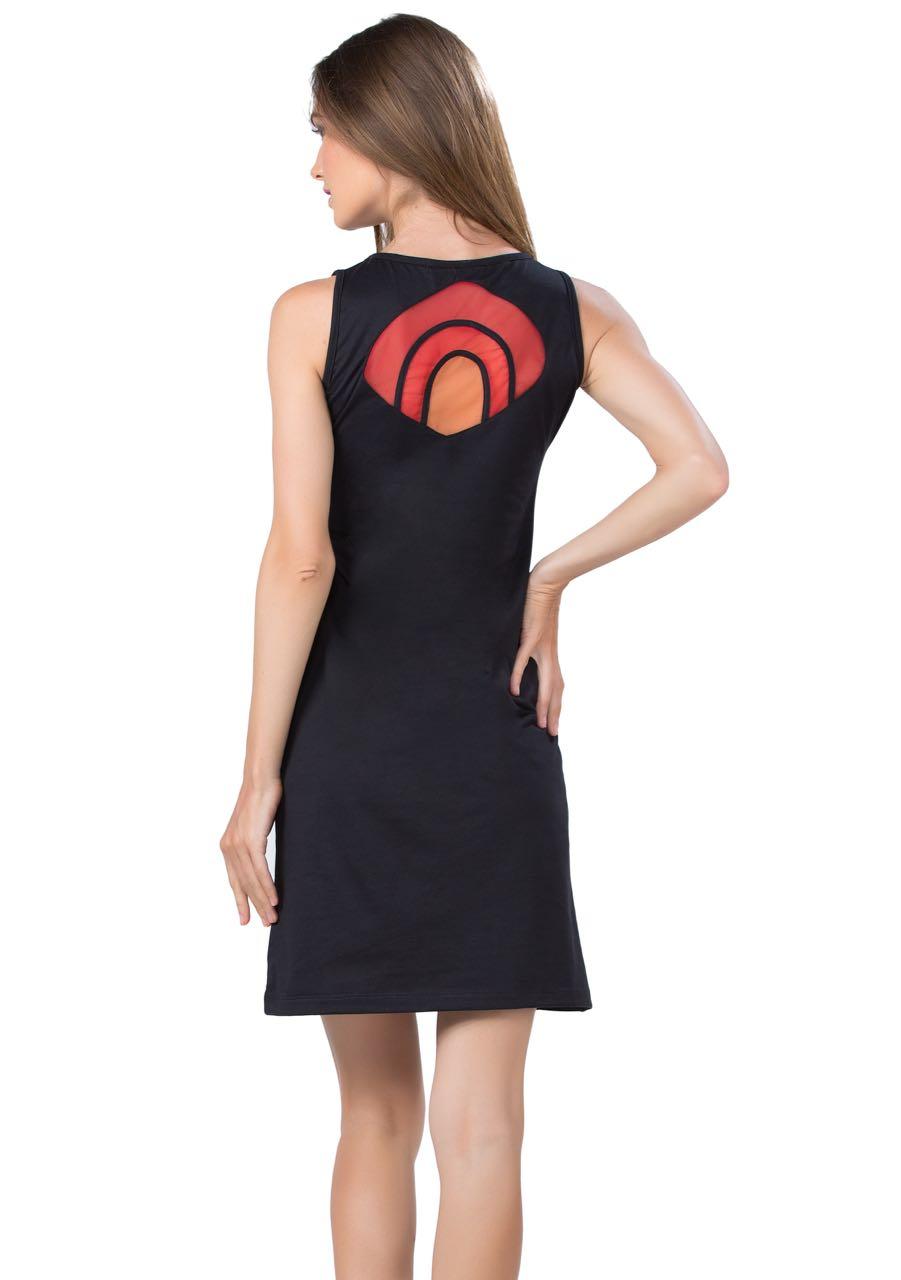 Pygmees Summer Dress Bilimbi Black Red Buy Online Canada Us
