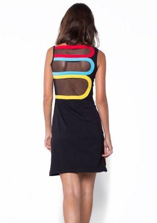 Pygmees Black Multicolour Dress
